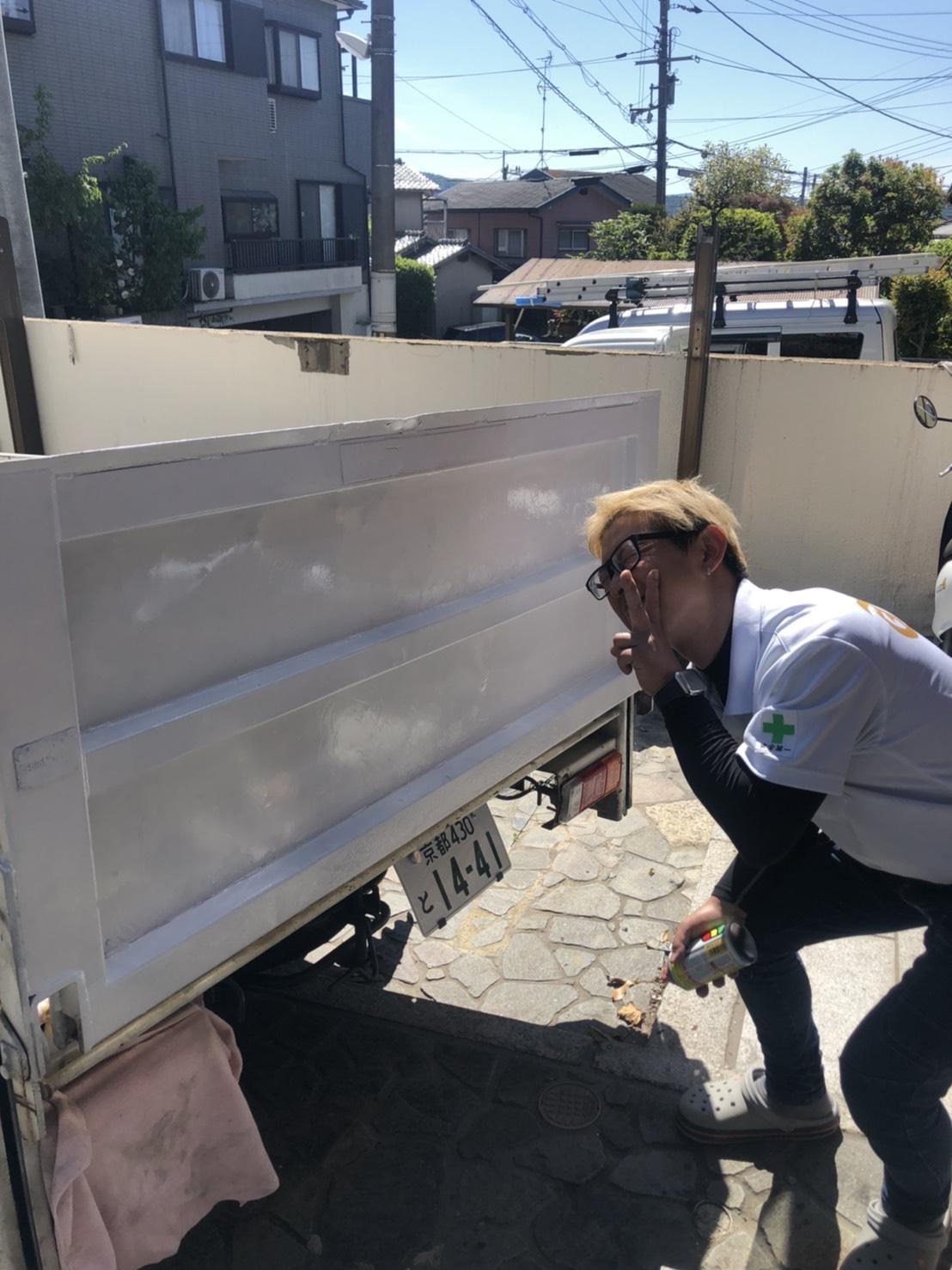 トラック塗装しました!!
